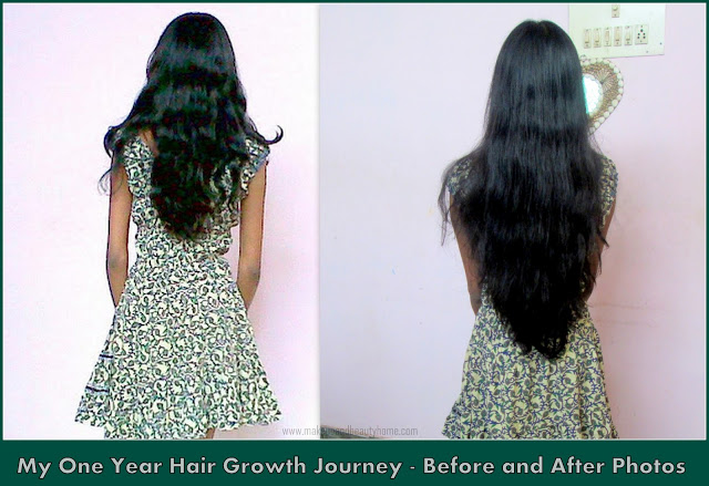 My One Year Hair Growth Journey Hair Regime Before And After Pictures