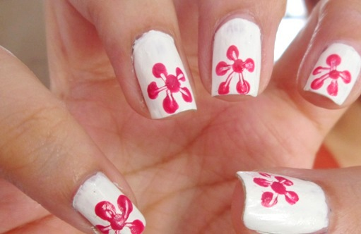 Easy Step By Step Spring Nail Art Tutorials For Beginners ... |Flower Nail Art Tutorial Step By Step